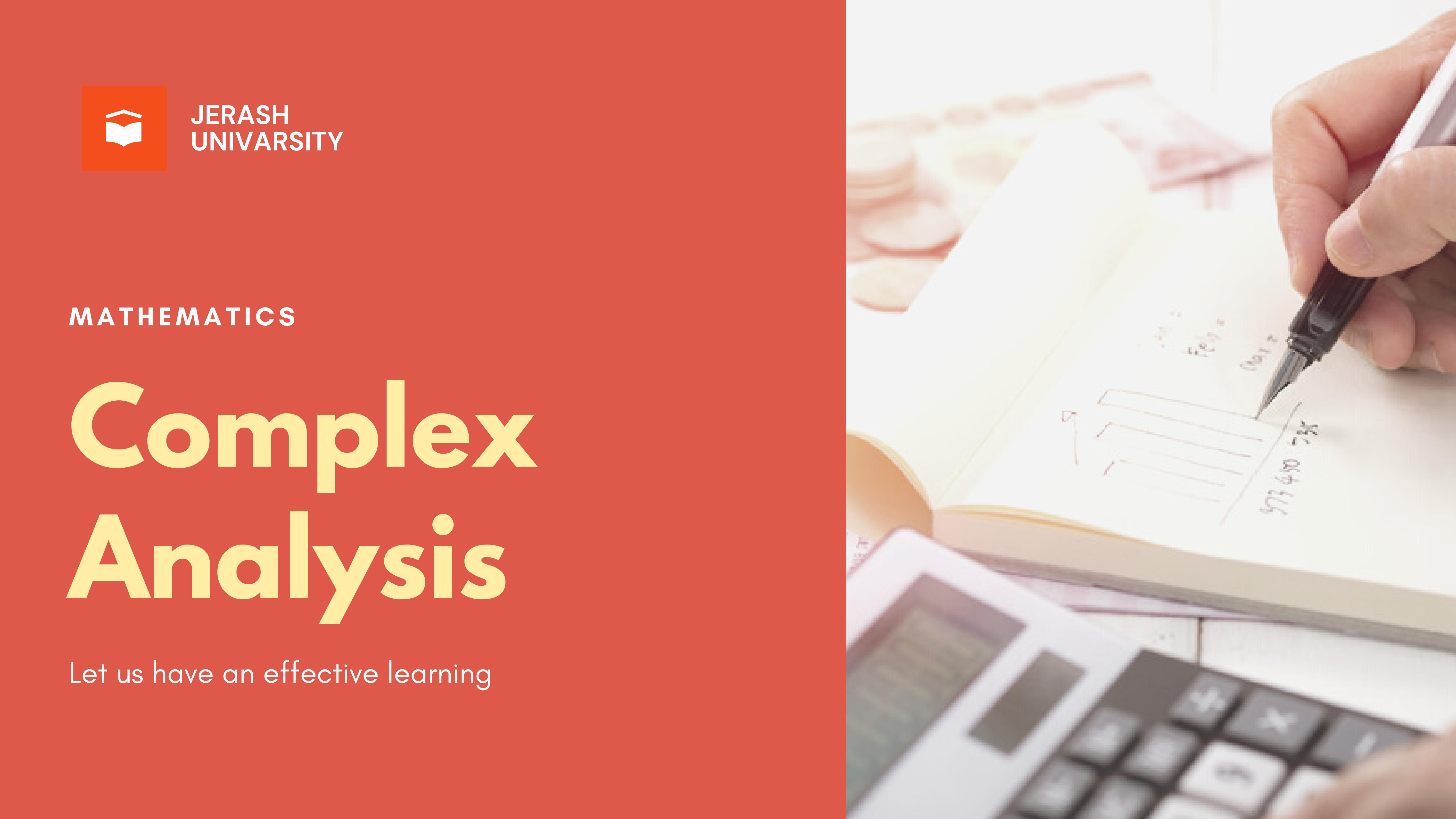 Complex Analysis   Lecture 24   Full   Semester 2  2020-2021